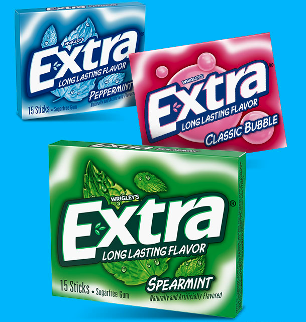 Coupon - Free Sample of Extra Gum at Walmart