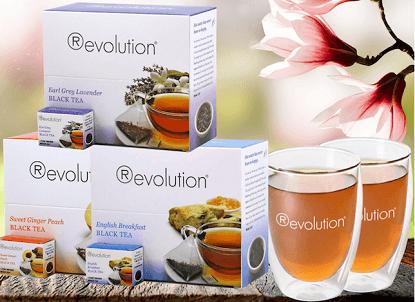 Revolution Tea Spring Bundle + Glass Giveaway