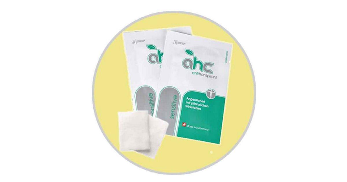 Free AHC Sensitive Antiperspirant Pads Sample Pack