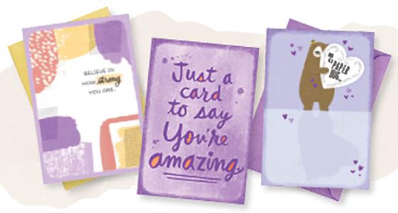 3 FREE Hallmark Encouragement Cards!
