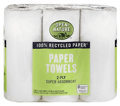 FREE Open Nature Paper Towels at Albertsons and Affiliate Stores