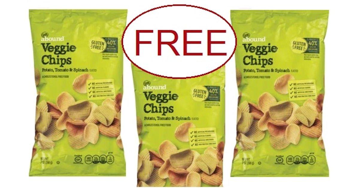 Free Gold Emblem Abound Veggie Chips at CVS