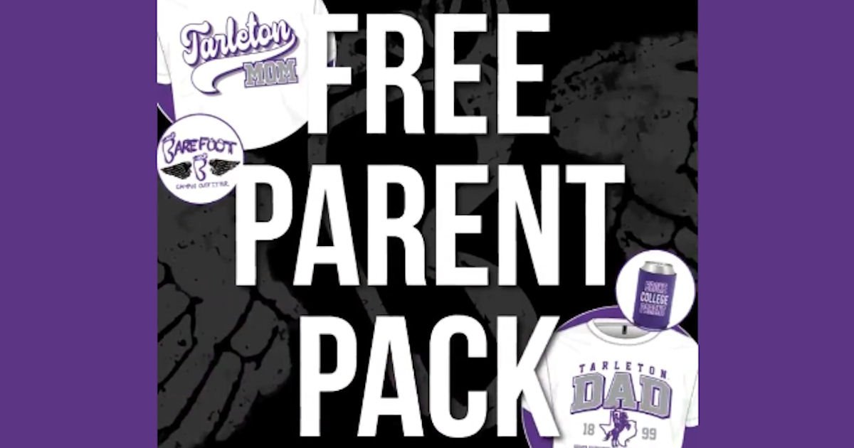 Free TSU Parent Pack with T-Shirt & Koozie