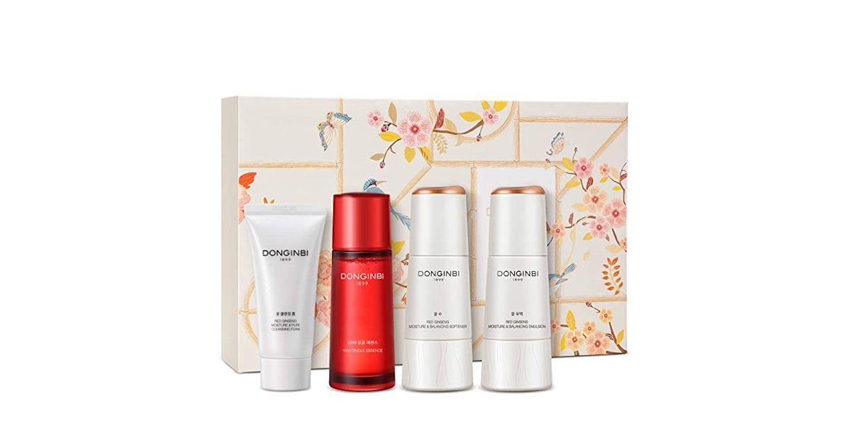 Free DONGINBI Red Ginseng Skincare Products