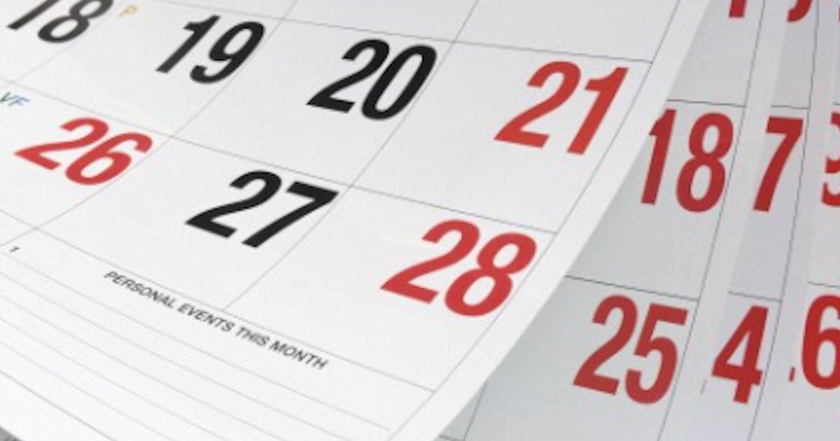 Free 2022 Goldsteins' Funeral Calendar