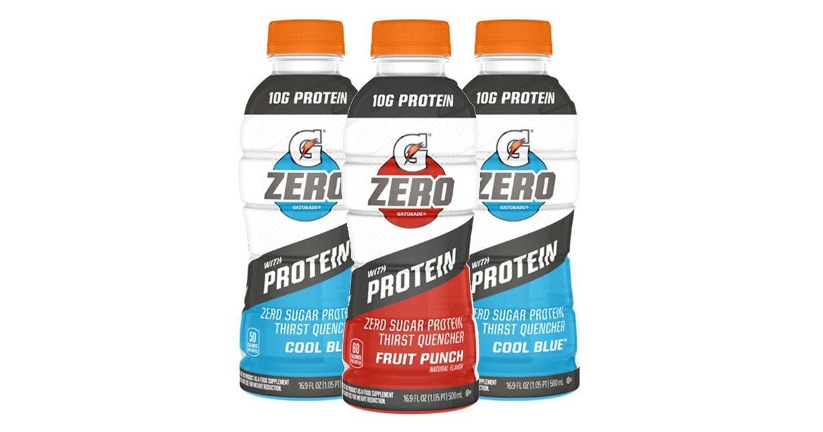 Free Gatorade Zero with Protein