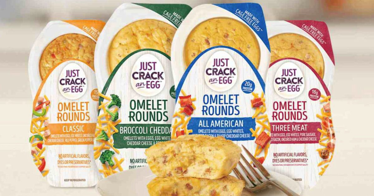 Free Just Crack An Egg Omelet Rounds at Select Stores
