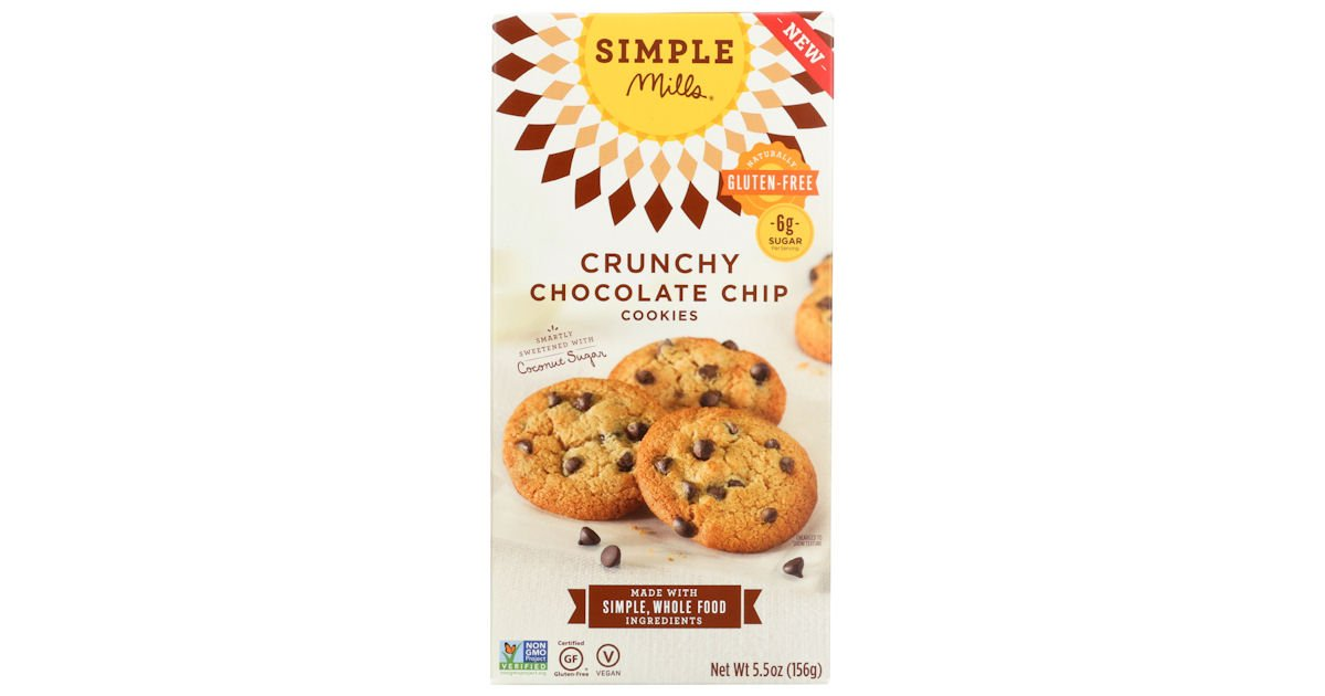 Free Simple Mills Crunchy Chocolate Chip Cookies at Target