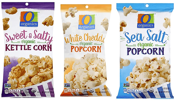 FREE O Organics Bagged Popcorn at Albertsons and Affiliate Stores
