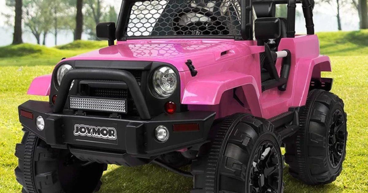 Win a 3-Speed Ride Along Motorized Kid's Toy Truck