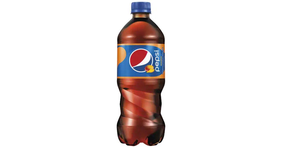 Free Bottle of Pepsi Mango at Walmart