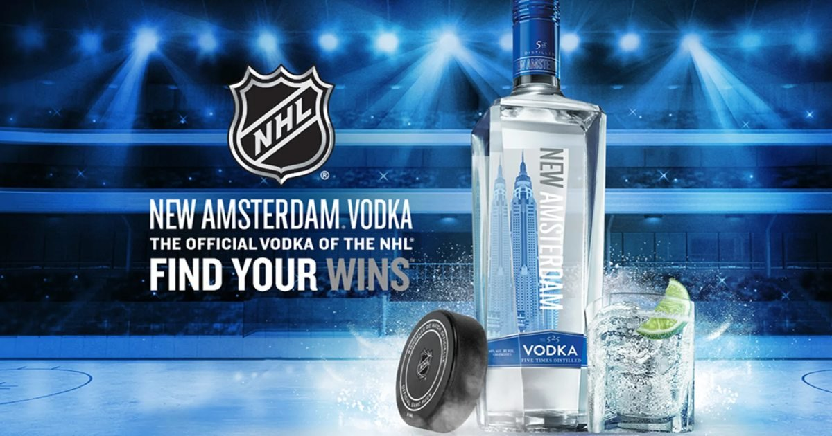 Win Tickets to 3 NHL Games from New Amsterdam Vodka